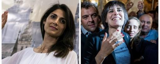 Torino e Roma, le donne M5s asfaltano il Pd